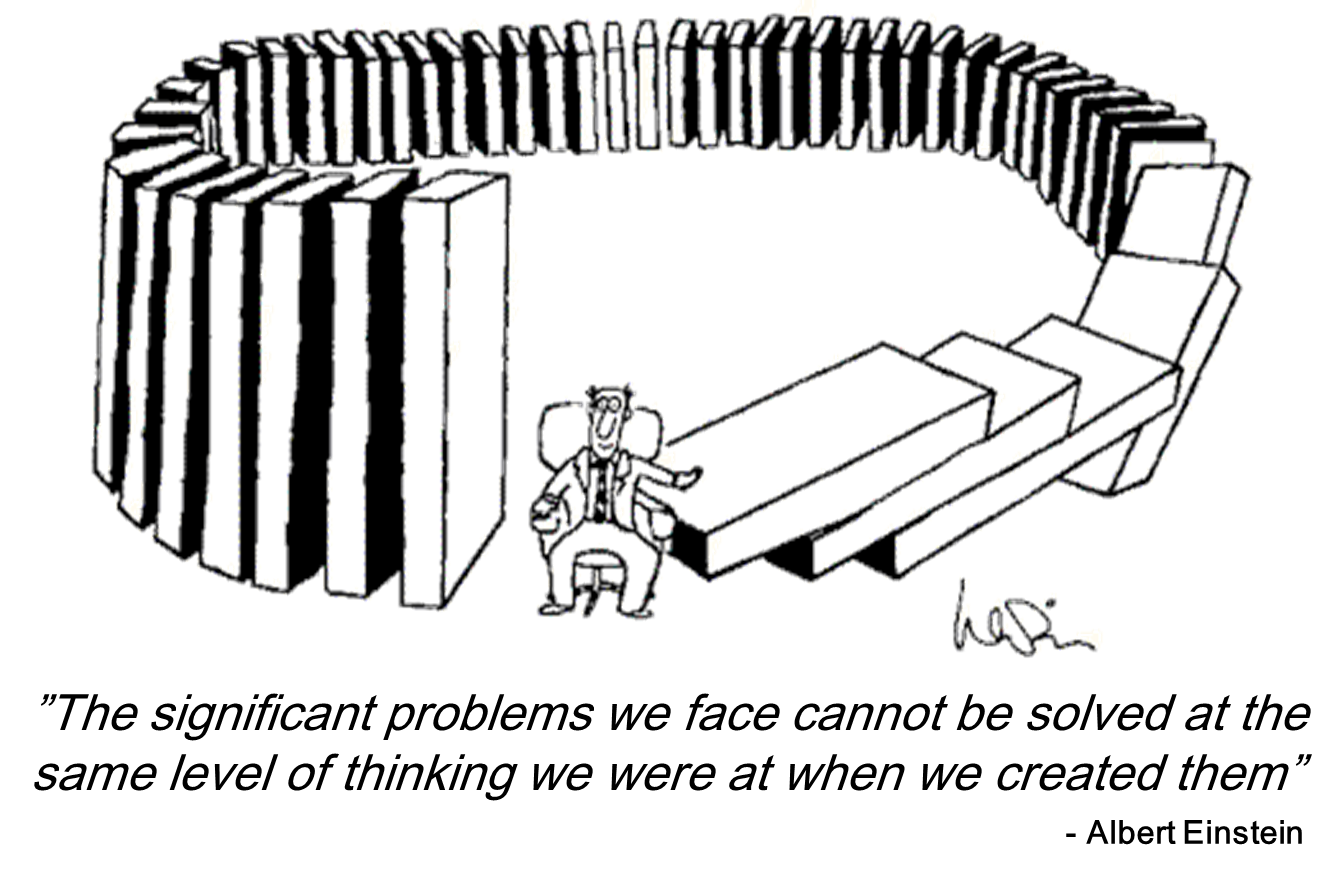 Einstein on problem solving